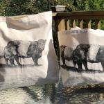 Belted Galloway Large Tote