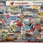 Puzzle- I Love Maine