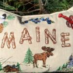 Balsam pillow Maine Scenes